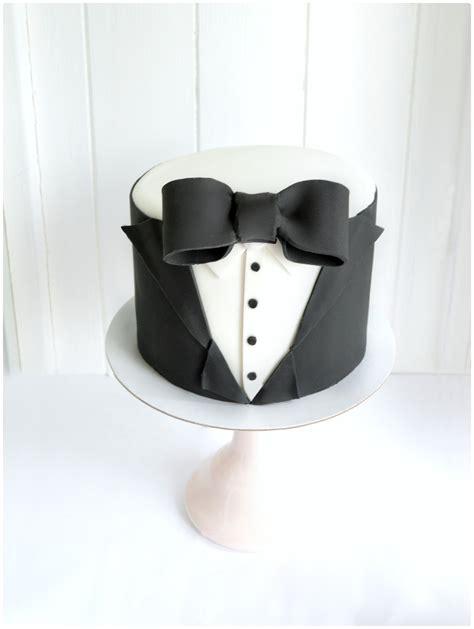 Black Tie Tux Birthday Cake for Men James Bond Themed Cherie Kelly London   Chérie Kelly