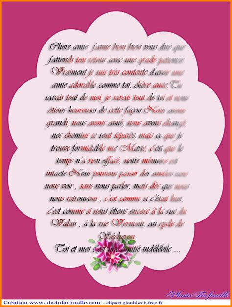 Lettre De Remerciement Un Ami 3 Lettre Pour Une Amie Modele Lettre