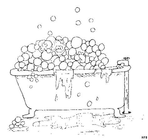 badewanne comic badewanne laeuft ueber ausmalbild malvorlage comics