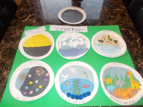themes in the creation story teaching bible stories to children creation crafts with