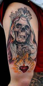 De La Santa Muerte Tattoos Car Tuning » Ideas Home Design