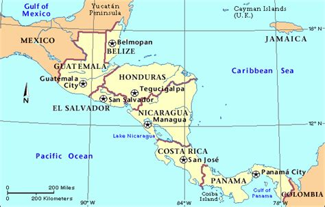 map of mexico central america learning america mexcurrent events