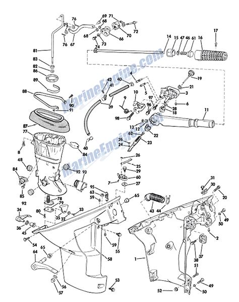 johnson outboard parts diagram johnson outboard motor diagram 30 wiring diagram images