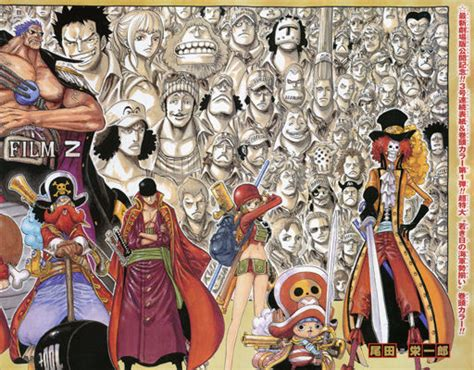 one piece film z young marines 3号連続表紙 巻頭カラー第1弾 超特大 若き日の海軍勢揃い 週刊少年ジャンプ2013年2月号