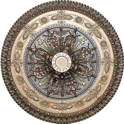 md 9127 antique bronze ceiling medallion