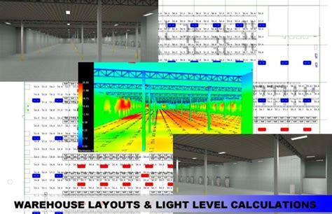 warehouse lighting layout calculator warehouse layouts ledco america lighting solutions