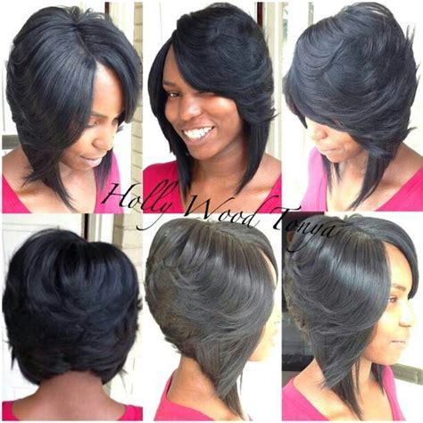 feathered bob for black women 17 best ideas about feathered bob on pinterest black bob