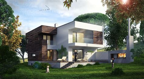 single family house cgarchitect professional 3d architectural visualization
