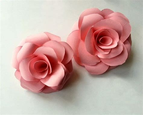 How To Make Roses Out Of Paper - diy paper 183 how to make a flowers rosettes