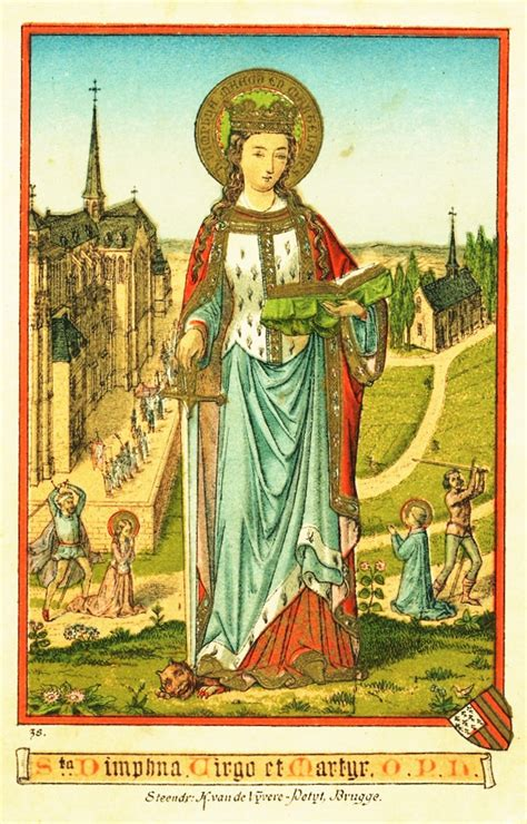 story st st dymphna the courage of a