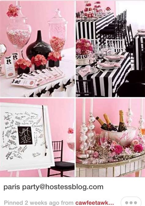 parisian themed events parisian theme 13th birthday party a collection of