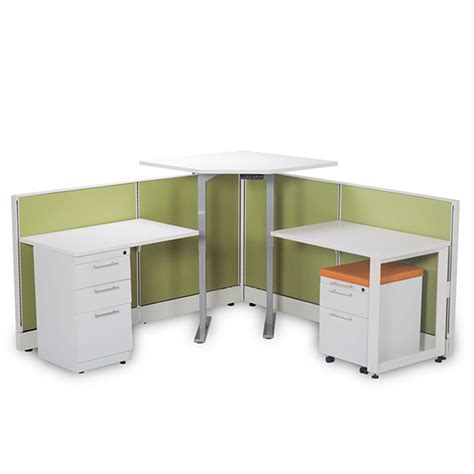 Cubicle Desk by Hilow Sit Stand Desk From Cubicle By Design