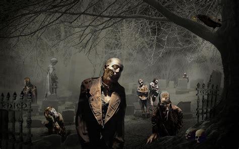 imagenes de halloween zombies zombies en cementerio im 225 genes de miedo y fotos de terror