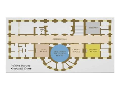 white house first floor plan white house ground floor plan white house fourth floor plan reproduction house plans
