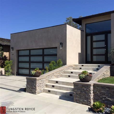 moderne garagen modern garage doors tungsten royce