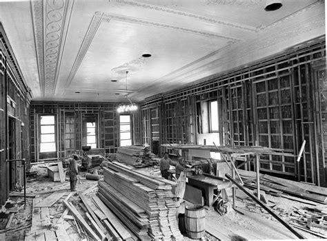 renovating the house file northeast view in the east room during the white house renovation 06 21 1951 jpeg