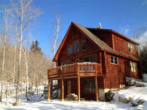 Sugarloaf Cabins For Rent by Beautiful New Log Home Sugarloaf Homeaway Kingfield