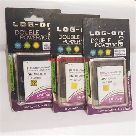 Log On Baterai Power For Mito 210 baterai evercoss a80a log on power 4 000 mah harga