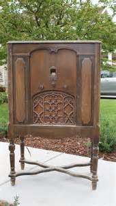 cabinet radio willow creek antique radio turned cabinet