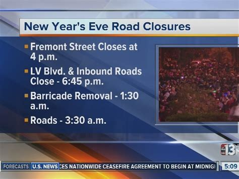 new year road closure malaysia local road closure information for new year s ktnv