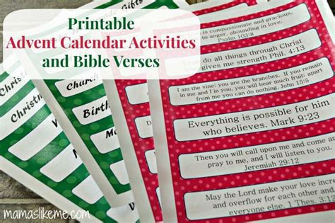 free printable advent calendar bible verses pin by leslie williams on christmas pinterest