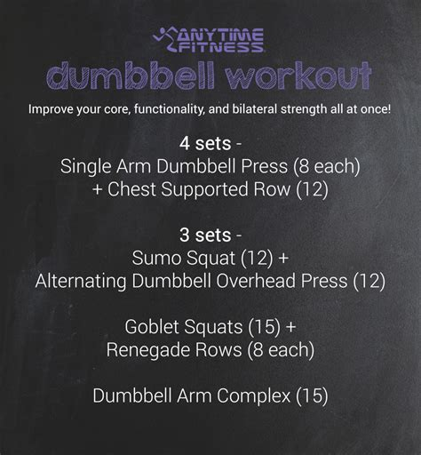 Dumbbell Fitness dumbbells are all you need
