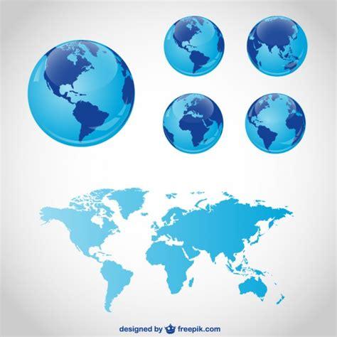 descargar globe maps gr 225 ficos vectoriales mundo descargar vectores gratis