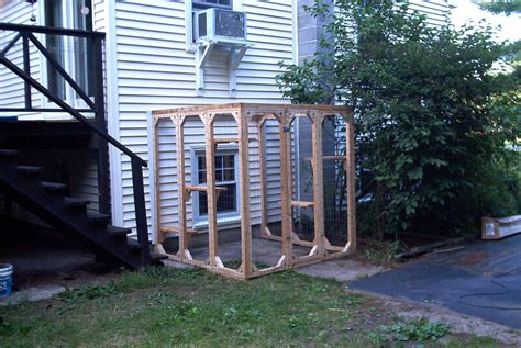backyard cat enclosure outdoor enclosures for your felines