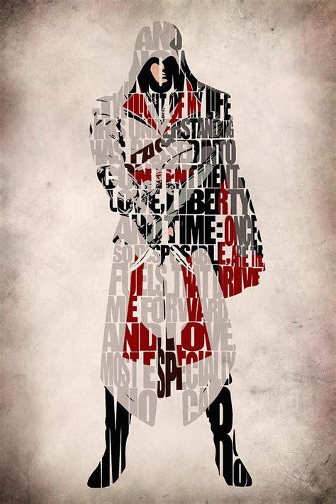 Second Hand Home Decor Online Ezio Assassin S Creed Brotherhood Digital Art By
