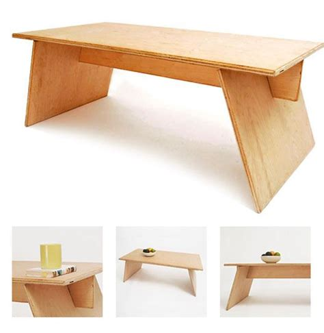 simple modern furniture best 10 plywood table ideas on plywood