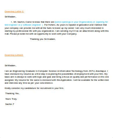 cover letter software engineer junior 28 images cover