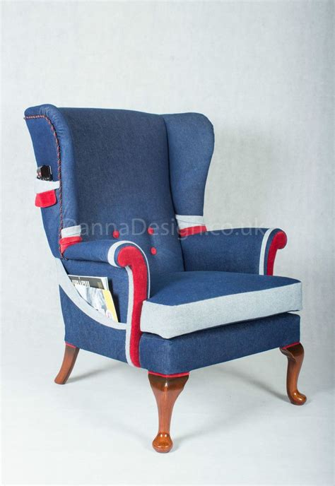 Armchairs Uk Design Ideas Wingback Armchair Design Ideas Furniture Wingback Armchair With Ottoman Gray Vintage Design