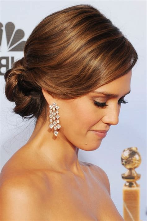 hair dos at the golden globes image detail for jessica alba 69th golden globe awards