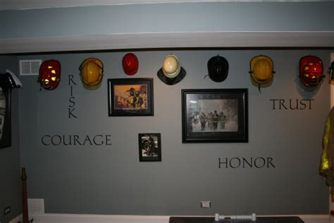 firefighter home decorations basement game room firefighter themed for f f husband