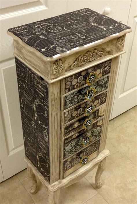 Jewelry Armoire Makeover by 190 Best Images About Jewellery Box Makeovers On