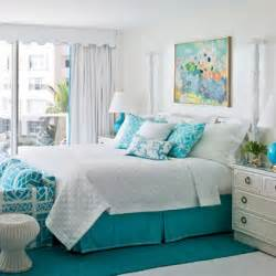 Light Blue And Coral Bedroom - dormitorios turquesa decoraci 243 n de interiores y exteriores estiloydeco
