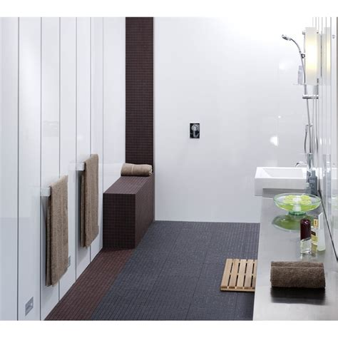 bathroom wall panels bunnings james hardie hardieglaze 2400 x 1200 x 6mm prem lining