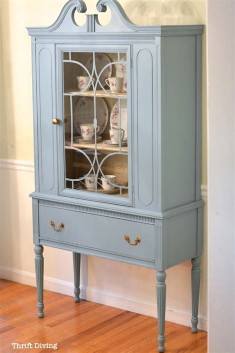 china cabinet makeover ideas before after my thrifted china cabinet makeover