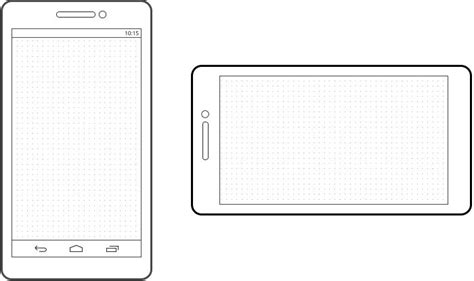 C Drawing On Screen by Preview Of The Android Phone Template Plus