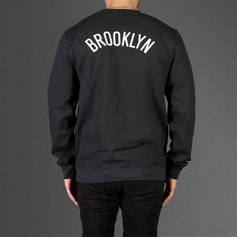 On Sweat Yay Black Grey Sweatshirt mitchell ness nets sweatshirt wehustle