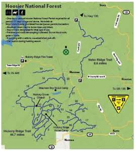 Brown County State Park Map by Brown County In Mountain Bike Tourism Map Coming Soon