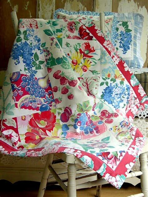 quilted tablecloth table linens vintage tablecloth quilt pillows my passion pinterest