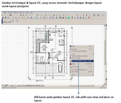 layout na blog ke sta ení setting layout archicad untuk plot gambar part 2