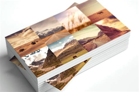 business card collage template 13 free business card templates for photographers