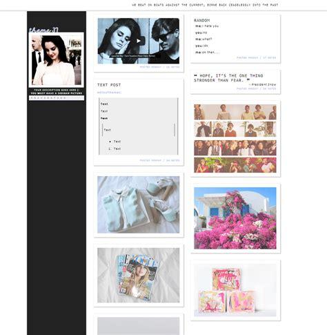 tumblr themes with sidebar image mystical themes
