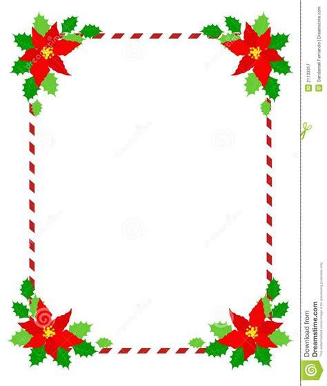 Yasma Maroon het frame kerstmis poinsettia vector illustratie