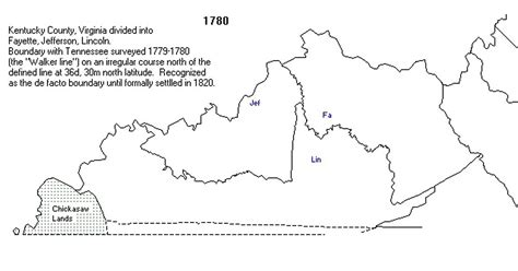 kentucky map formation ky county formation maps