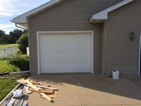 Garage Door Trim Repair by Garage Door Trim Replacement