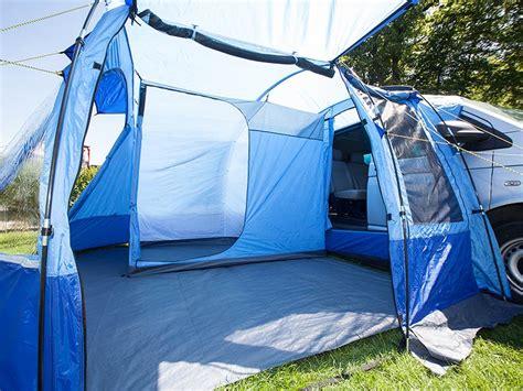 van tent awning skandika aarhus travel mini van awning tent camping 2