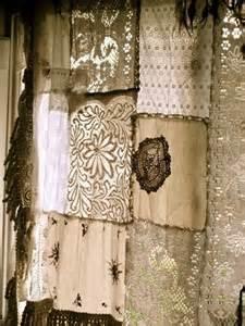 linen and lace curtains patchwork antique linen curtain linen lace